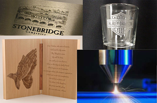 Examples of Laser Engraving